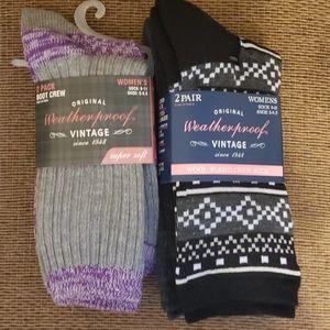 Women's Sock Bundle - 4 Pair